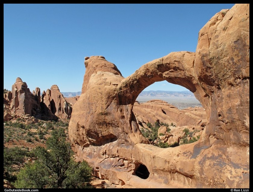 Double O Arch - Arches National Park