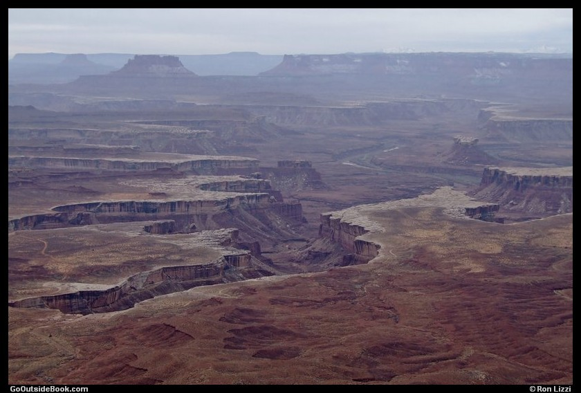 View from the Green River Overlook - Canyonlands National Park, Utah
