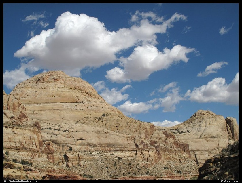 Capitol Dome - Capitol Reef National Park