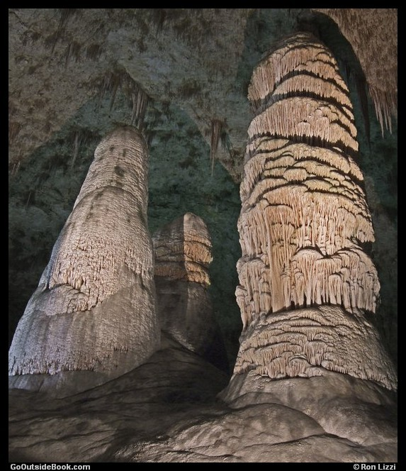 Giant Dome and Twin Domes - Carlsbad Caverns National Park, New Mexico