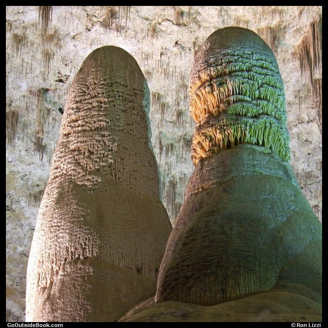 Twin Domes - Carlsbad Caverns National Park, New Mexico