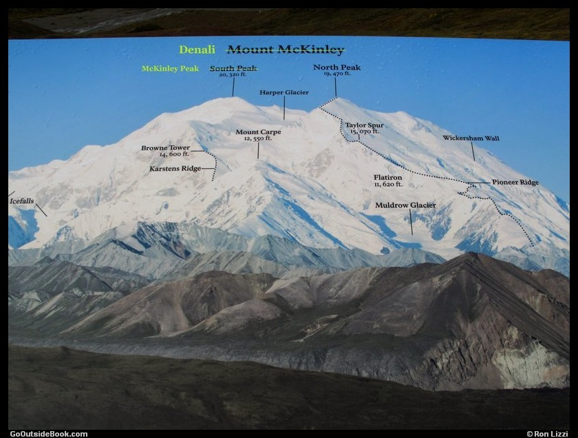 Denali sign with name changes