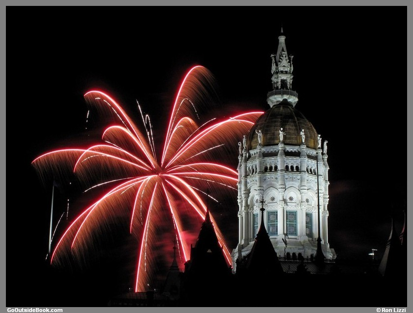 First Night Hartford 2016 Fireworks 2