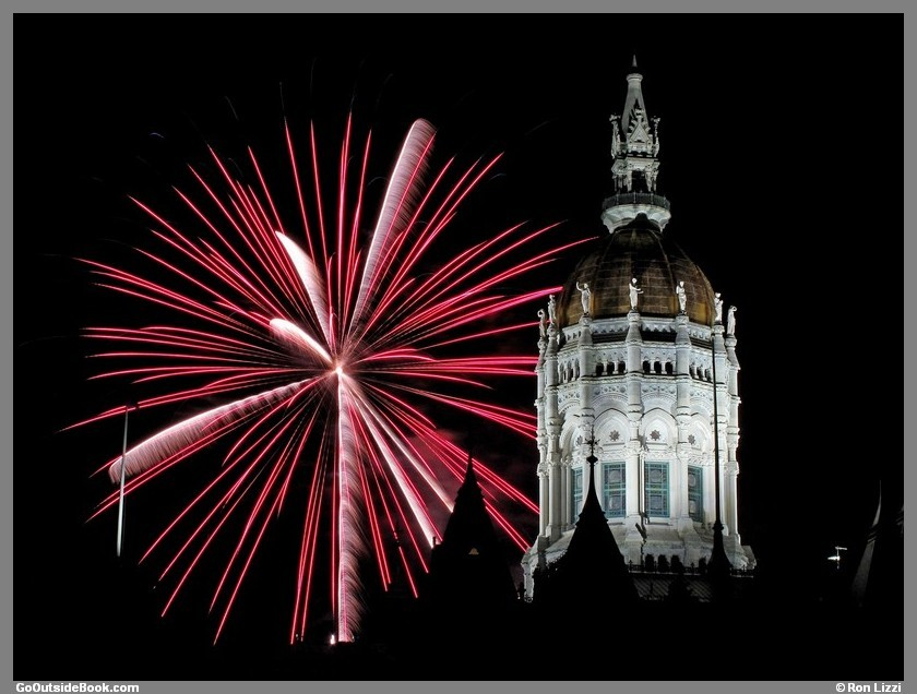 First Night Hartford 2016 Fireworks 3