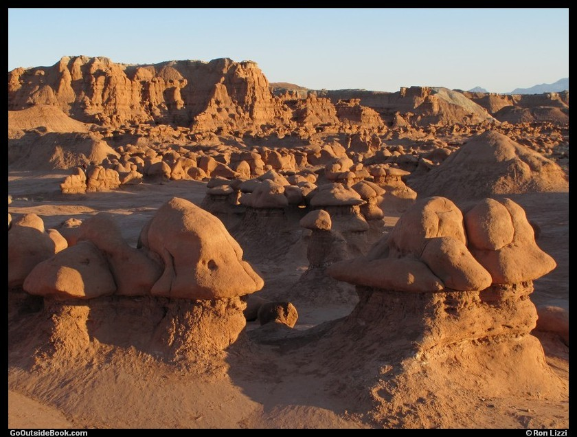 Goblin Valley - Goblins in the Morning