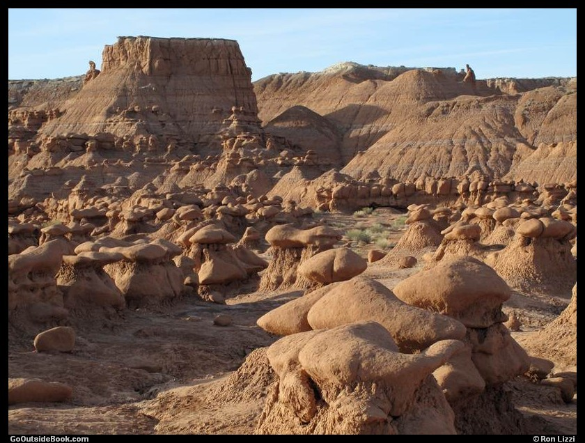 Goblin Valley - Main Valley in the Morning