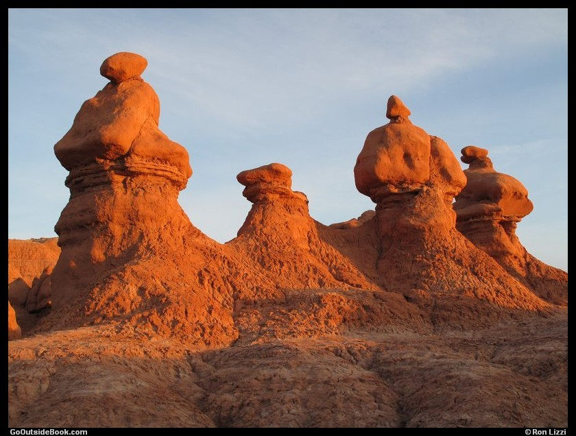 Goblin Valley - Goblins at Sunrise
