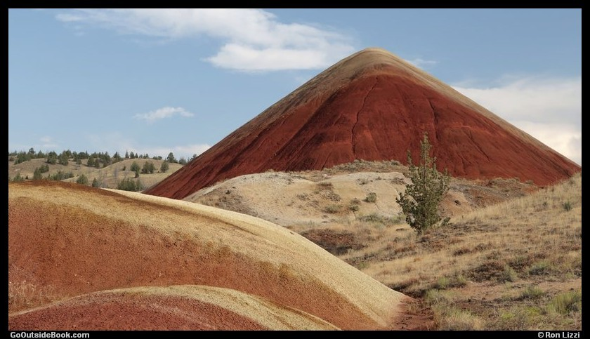 Red Scar Knoll - John Day Fossil Beds National Monument, Oregon