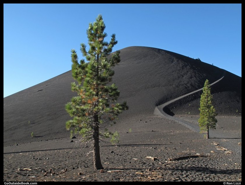 Cinder Cone Trail 3 - Lassen Volcanic National Park, California