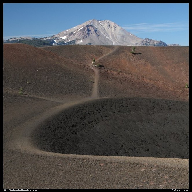 Cinder Cone Trail 7 - Lassen Volcanic National Park, California