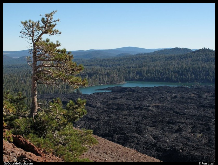 Cinder Cone Trail 9 - Lassen Volcanic National Park, California