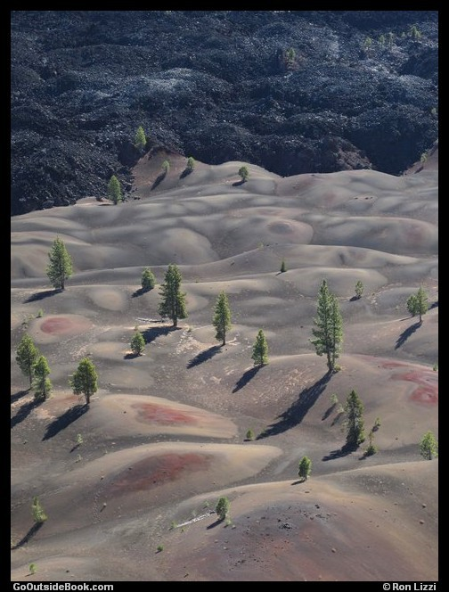 Cinder Cone Trail 10 - Lassen Volcanic National Park, California