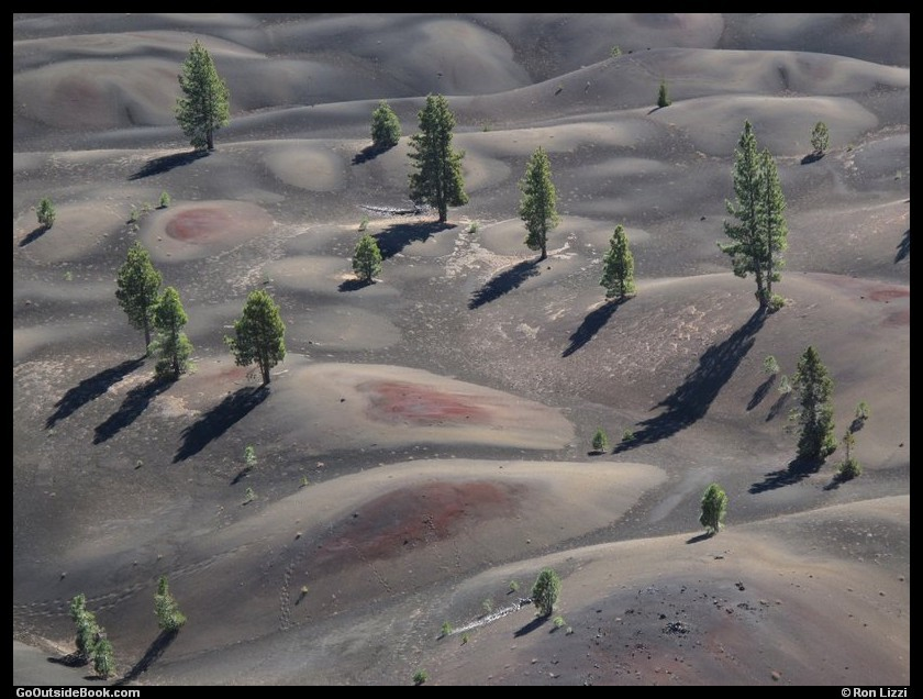 Cinder Cone Trail 11 - Lassen Volcanic National Park, California