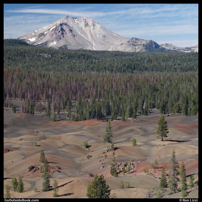 Cinder Cone Trail 12 - Lassen Volcanic National Park, California