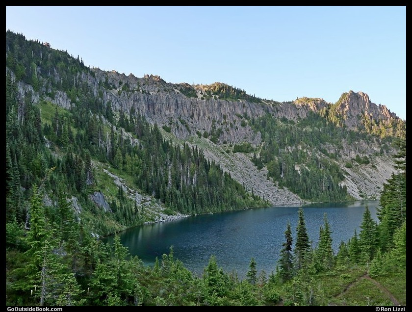 Tolmie Peak and Eunice Lake - Mount Rainier National Park, Washington