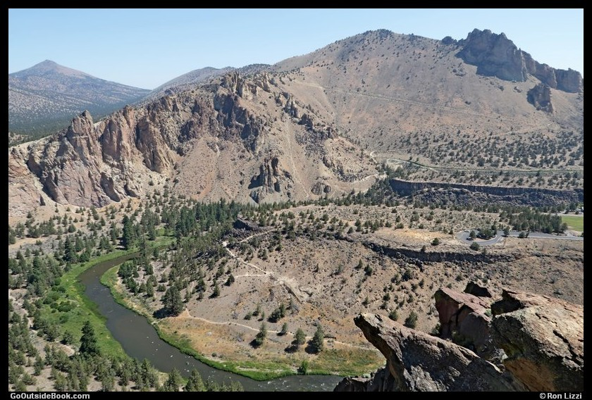 View from the Misery Ridge Overlook - Smith Rock State Park, Oregon