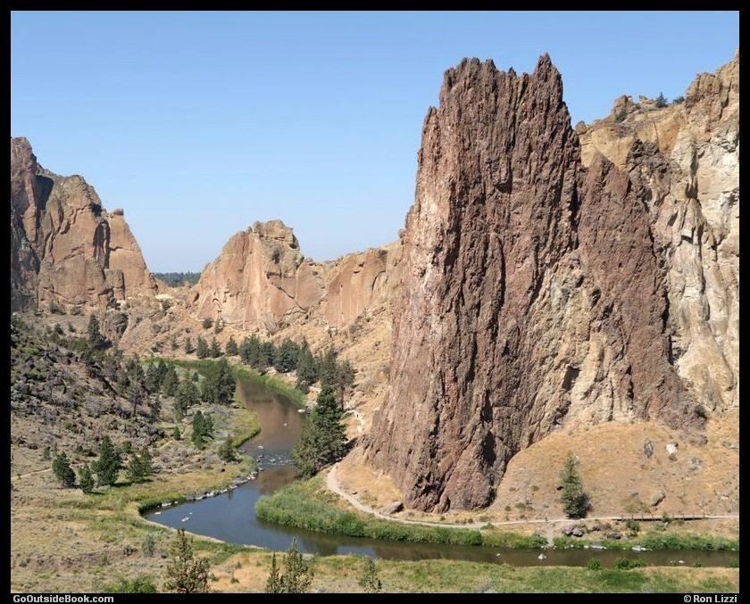 Smith Rock and Crooked River - Smith Rock State Park, Oregon