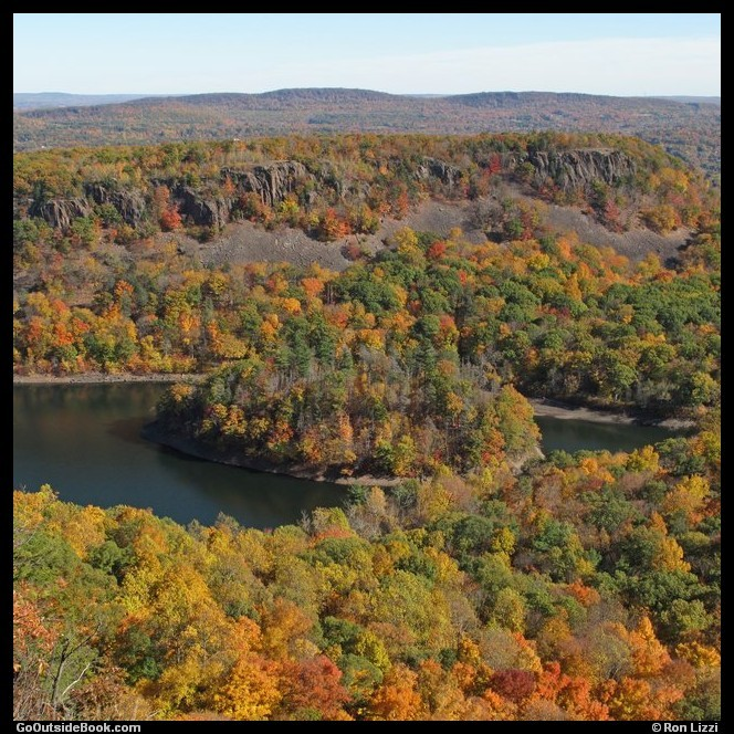 South Mountain and Merimere Reservoir, Connecticut
