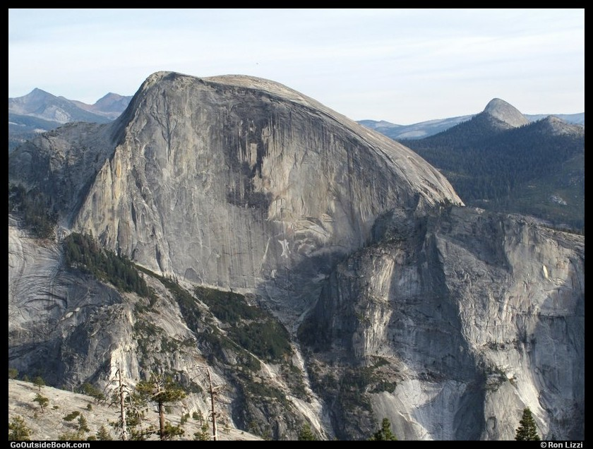 Half Dome viewed from Indian Ridge, Yosemite National Park, California